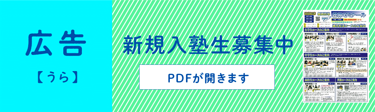 広告 裏 PDFが開きます